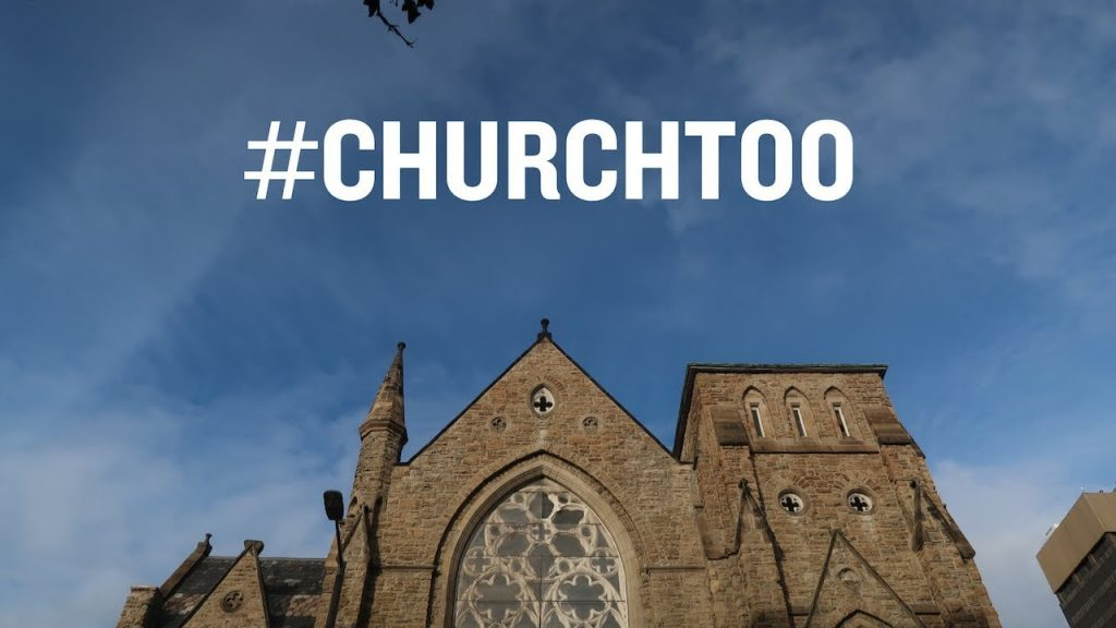 #churchtoo sticker